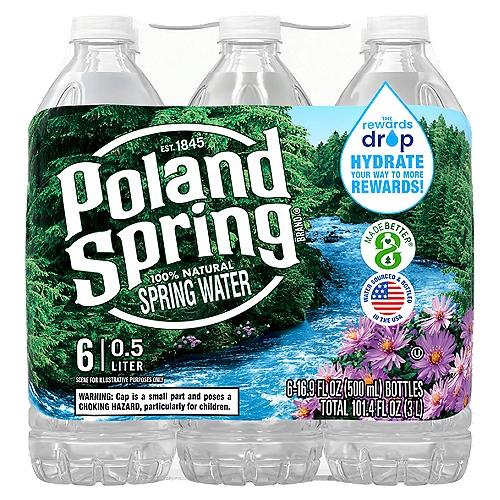 16.9-ounce plastic  bottles (Pack of 6)