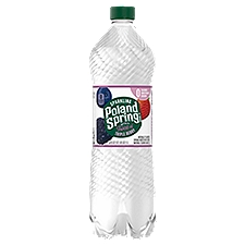 Poland Spring Triple Berry Sparkling Water, 33.8 Fluid ounce