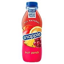Snapple Juice Drink Fruit Punch, 1 Each