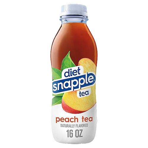 Diet Snapple Peach Tea, 16 oz