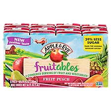 Apple & Eve Fruitables Fruit Punch Juice Beverage, 54 Fluid ounce