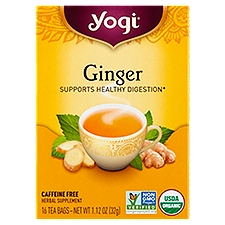 Yogi Ginger Tea, 16 Each