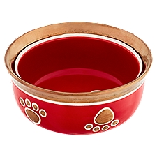 Ethical Products Inc. Copper 5 Inch Red Dog Bowl, 1 Each