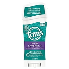 Tom's of Maine Deodorant Stick - Natural Lavender, 2.25 Ounce