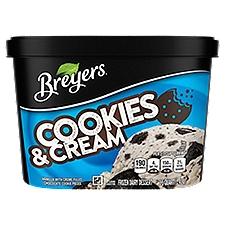 Breyers Blasts OREO Cookies & Cream Light Ice Cream, 48 Ounce