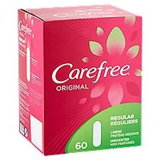 Carefree Original Regular Liners, 60 Each