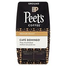 Peet's Coffee & Tea Ground Coffee - Cafe Domingo Medium Roast, 12 Ounce