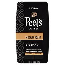 Peet's Coffee & Tea Big Bang Medium Roast Ground Coffee, 10.5 Ounce