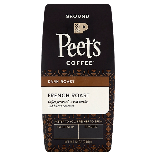 Deep dark roast coffee. Intensely bold and flavorful. Pronounced smoky overtones with a pleasant bite. Deep-roasted by hand in small batches.