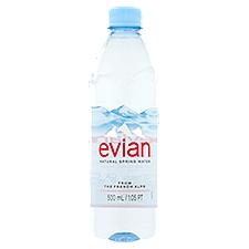Evian Natural Spring Water, 16.9 Fluid ounce
