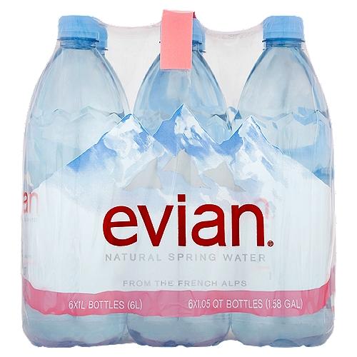6 Pack of 1 liter bottles