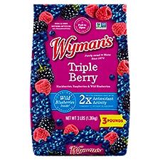 Wyman's of Maine Triple Berry Blend, 3 Pound