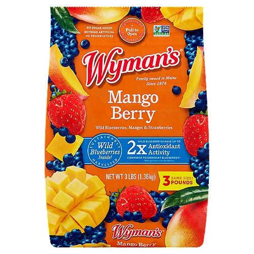 Convenient Resealable Bag!; Same 3 lb. Size!; Farm • Fresh • Frozen