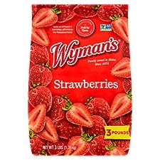 Wyman's Strawberries, 3 Pound