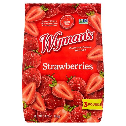 Convenient Resealable Bag; Farm • Fresh • Frozen; Same 3 lb. Size!