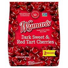 Wyman's Fresh Frozen Dark Sweet with Red Tart Cherries, 2 Pound