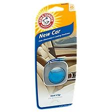 Arm & Hammer Vent Clip New Car Scent, 0.14 Fluid ounce