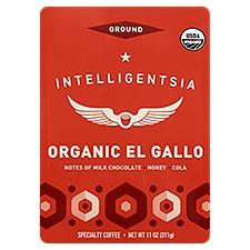 Intelligentsia Coffee, Citrus, Stone Fruit & Caramel El Gallo Breakfast Blend Ground, 11 Ounce