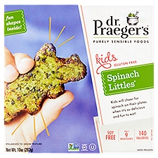 Dr. Praeger's Purely Sensible Foods Spinach Littles, 10 Ounce