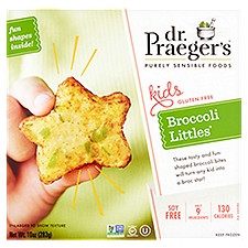 Dr. Praeger's Purely Sensible Foods Broccoli Littles, 10 Ounce