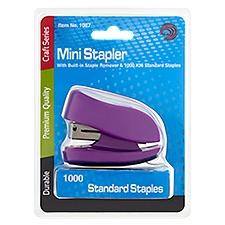 Avantix Mini Stapler with 1,000 Standard Staples Set, 1 Each