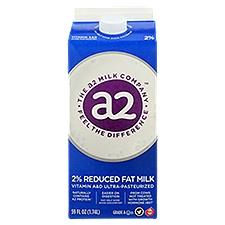 A2 2% Reduced Fat Milk, 59 Fluid ounce