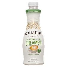 Califia Farms Unsweetened Almond Milk Coffee Creamer, 25.4 Fluid ounce