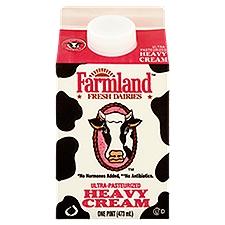Farmland Dairies Heavy Cream - Pint, 16 Fluid ounce