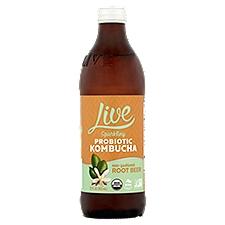 Live Kombucha Kombucha Root Beer, 12 Fluid ounce