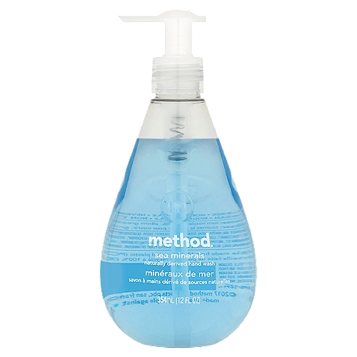 Naturally derived gel hand wash. Paraben free and biodegradable.