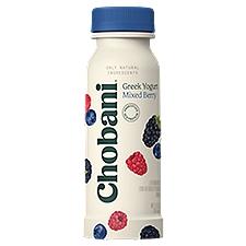 Chobani Mixed Berry Low-Fat Greek Yogurt Drink, 7 Fluid ounce