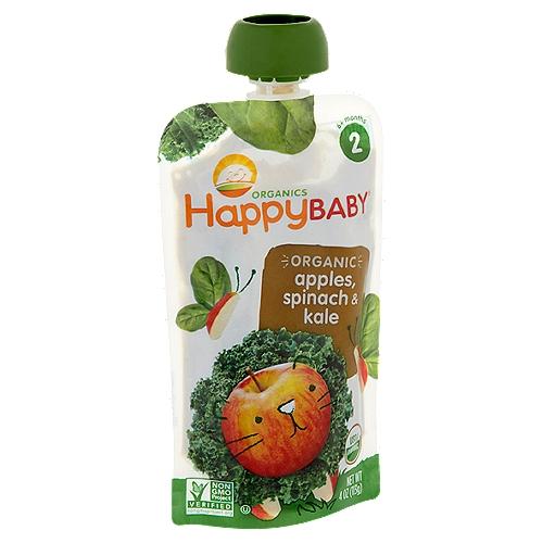 Organic baby food. 6+ months.