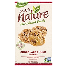 Back to Nature Chocolate Chunk Cookies, 9.5 Ounce