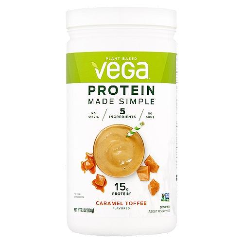 15g protein*  *Per serving