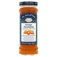 St. Dalfour Fruit Spread - Deluxe Orange Marmalade, 10 Ounce