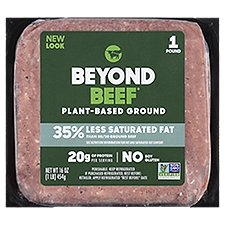 Beyond Beef Beef Plant-Based Ground, 16 Ounce