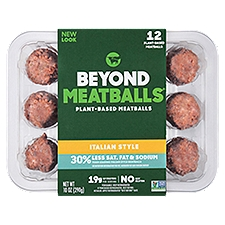 Italian Style Plant Based Meatballs, 10 Ounce