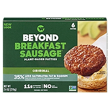 Beyond Meat Classic Breakfast Sausage Patties, 7.4 Ounce