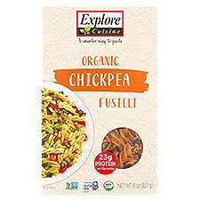 Explore Cuisine Organic Chickpea Fusilli, 8 Ounce