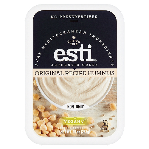 Non-GMO*  *This product was made without genetically engineered ingredients. However, trace amounts of genetically engineered material may be present.