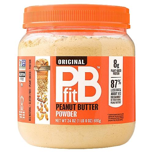 PBfit Original Peanut Butter Powder, 24 oz