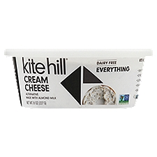Kite Hill Cream Cheese, Everything, 8 Ounce