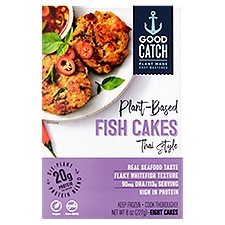 Good Catch Fish Cakes Thai Style Plant-Based, 8 Each