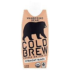 Wandering Bear Cold Brew Coffee, 11 Fluid ounce