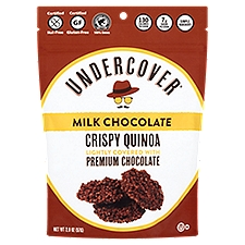 Undercover Crispy Quinoa, Milk Chocolate, 2 Ounce