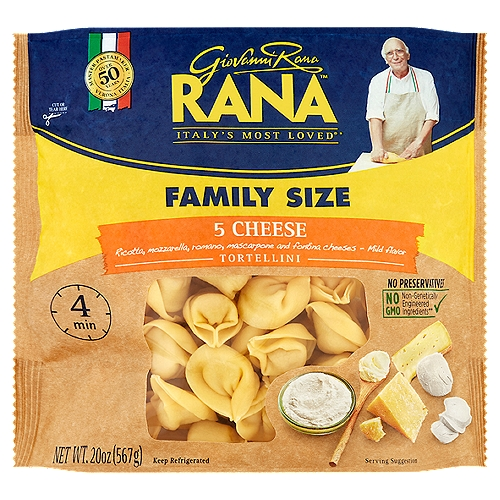 Italy's Most Loved®*; Family Size; 4 Min; Master Pastamaker Over 50 Years
