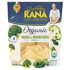 Rana Organic Broccoli & Fontina Cheese Ravioli, 9 Ounce