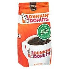Dunkin' Donuts Dunkin' Decaf Ground Coffee, 12 Ounce