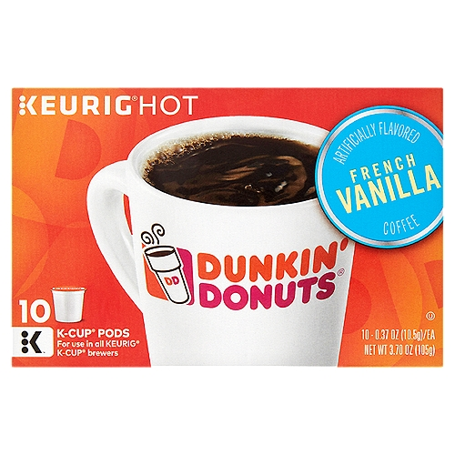 Light and lovely - our French Vanilla flavored coffee is blended with the flavor and aroma of sweet, creamy vanilla and now available in handy little K-Cuppods.