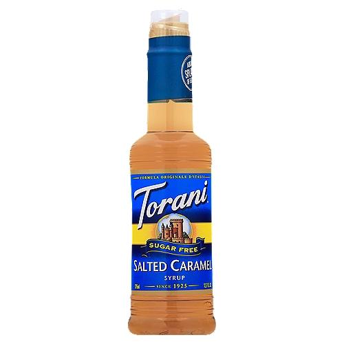 Sugar free salted caramel flavoring syrup